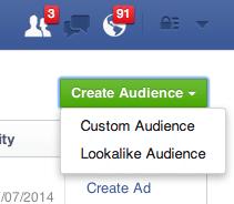 Create Audiences
