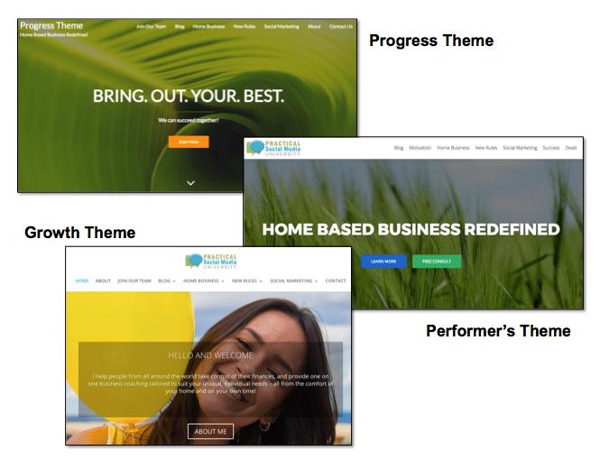 Blogging Service Themes